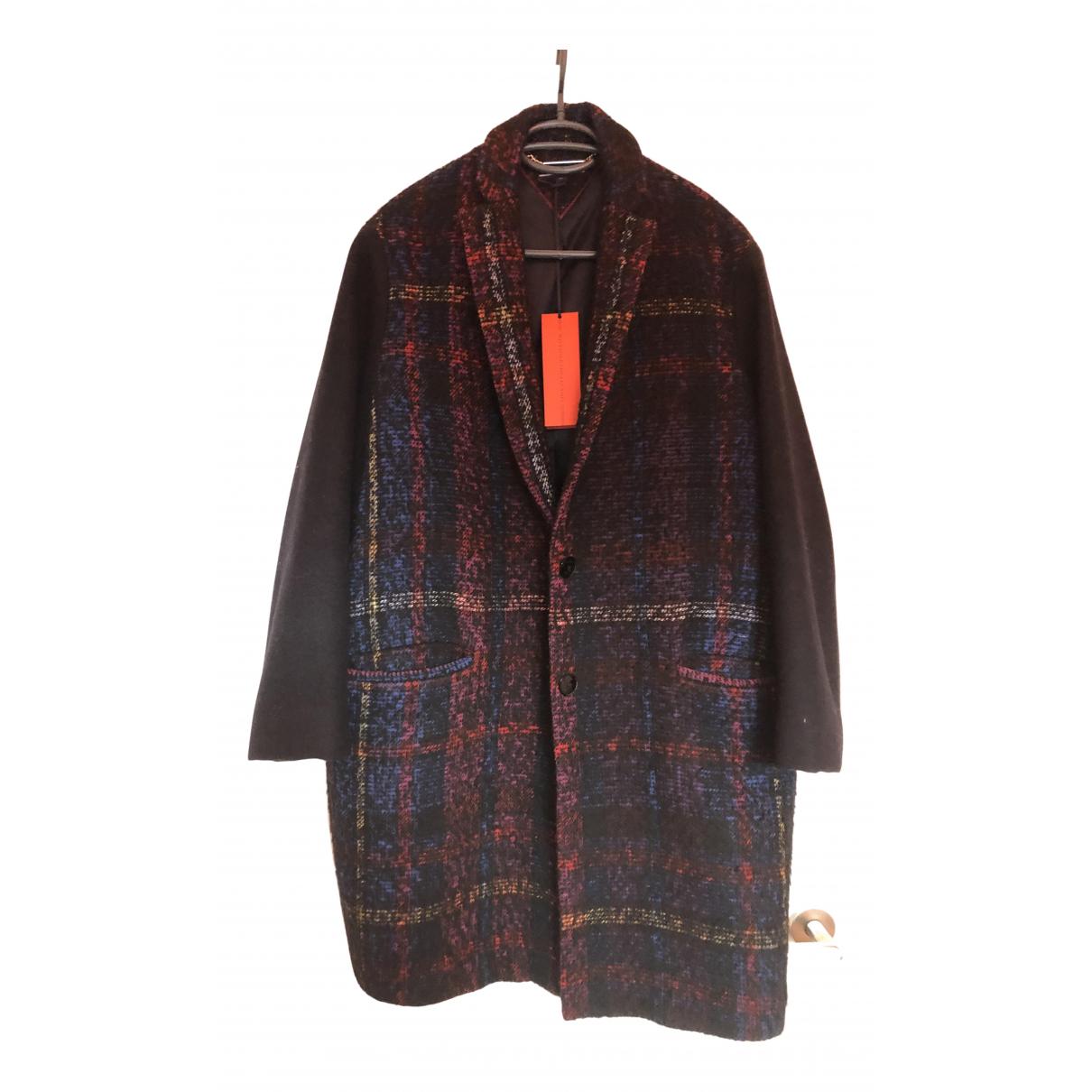 Tommy Hilfiger - Manteau   pour femme en laine - noir