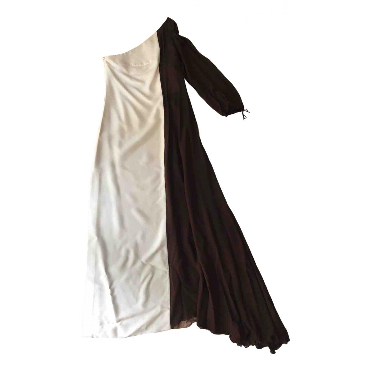 Barbara Bui - Robe   pour femme en soie - marron