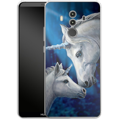 Huawei Mate 10 Pro Silikon Handyhuelle - Sacred Love von Lisa Parker