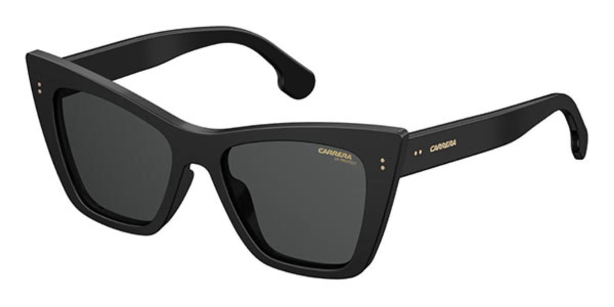 Carrera 1009/S 807/IR Women's Sunglasses Black Size 52