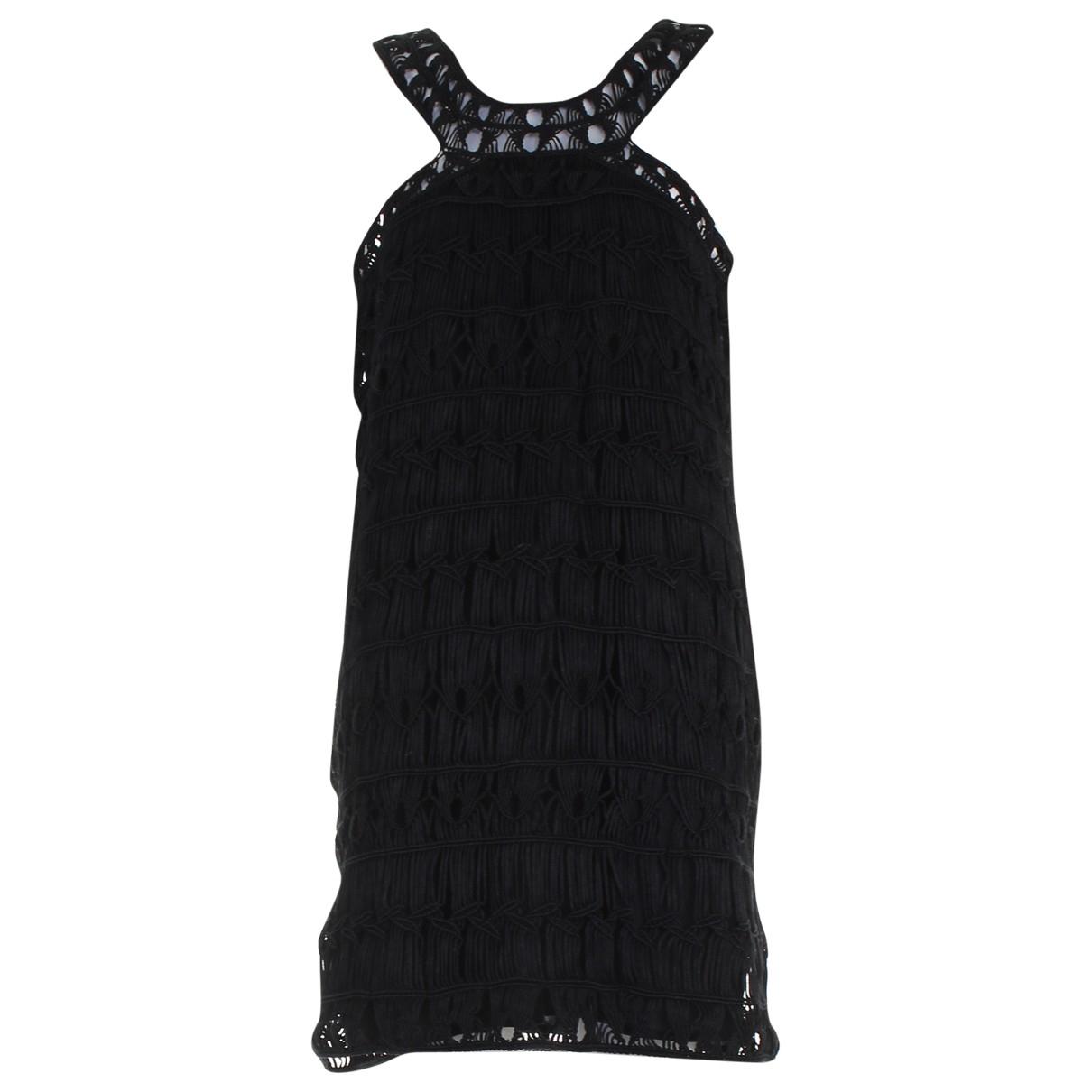 Diane Von Furstenberg \N Black Cotton dress for Women M International