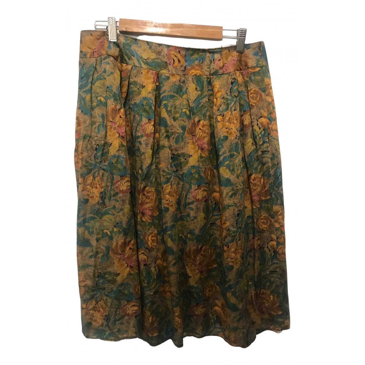 Non Signé / Unsigned N Multicolour skirt for Women L International