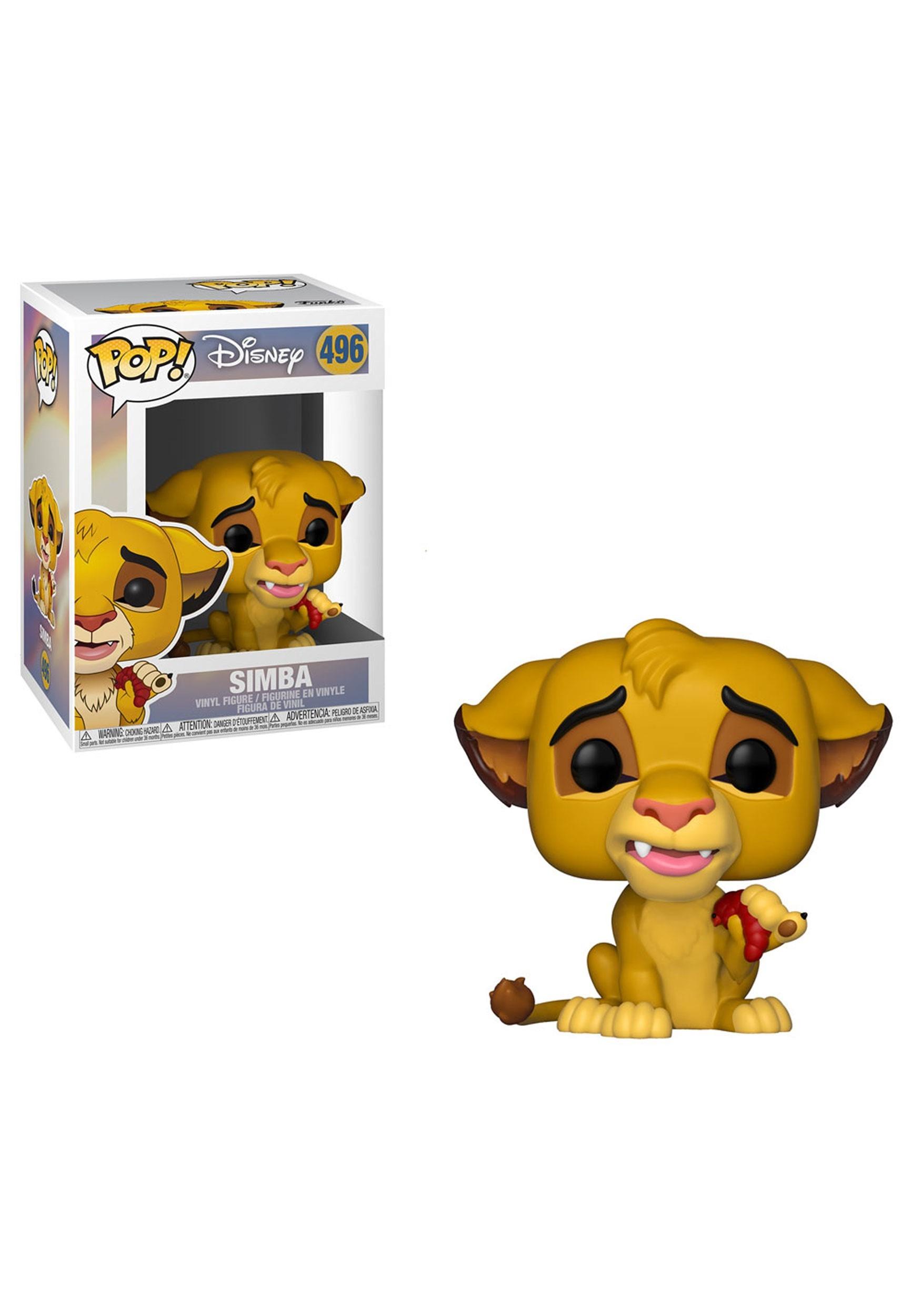 Funko Pop! Disney: Lion King Simba Vinyl Figure