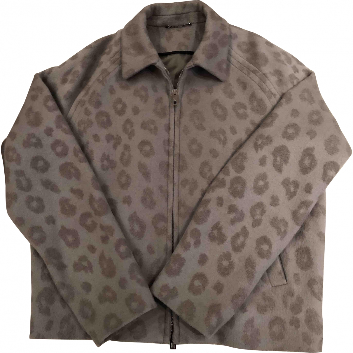 Louis Vuitton \N Grey Wool jacket  for Men 56 IT