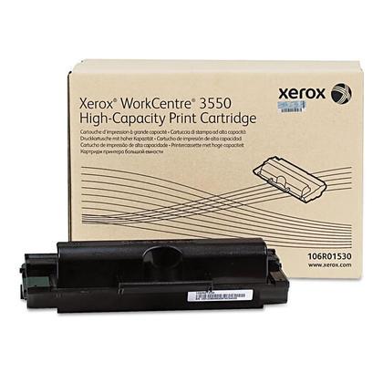 Xerox 106R01530 Original Black Toner Cartridge High Yield For WorkCentre 3550 Printer