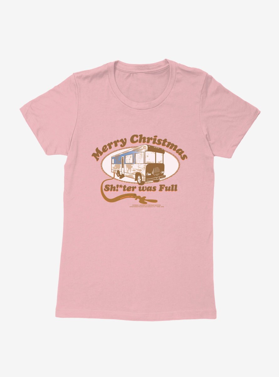 National Lampoon's Christmas Vacation RV Was Full Womens T-Shirt