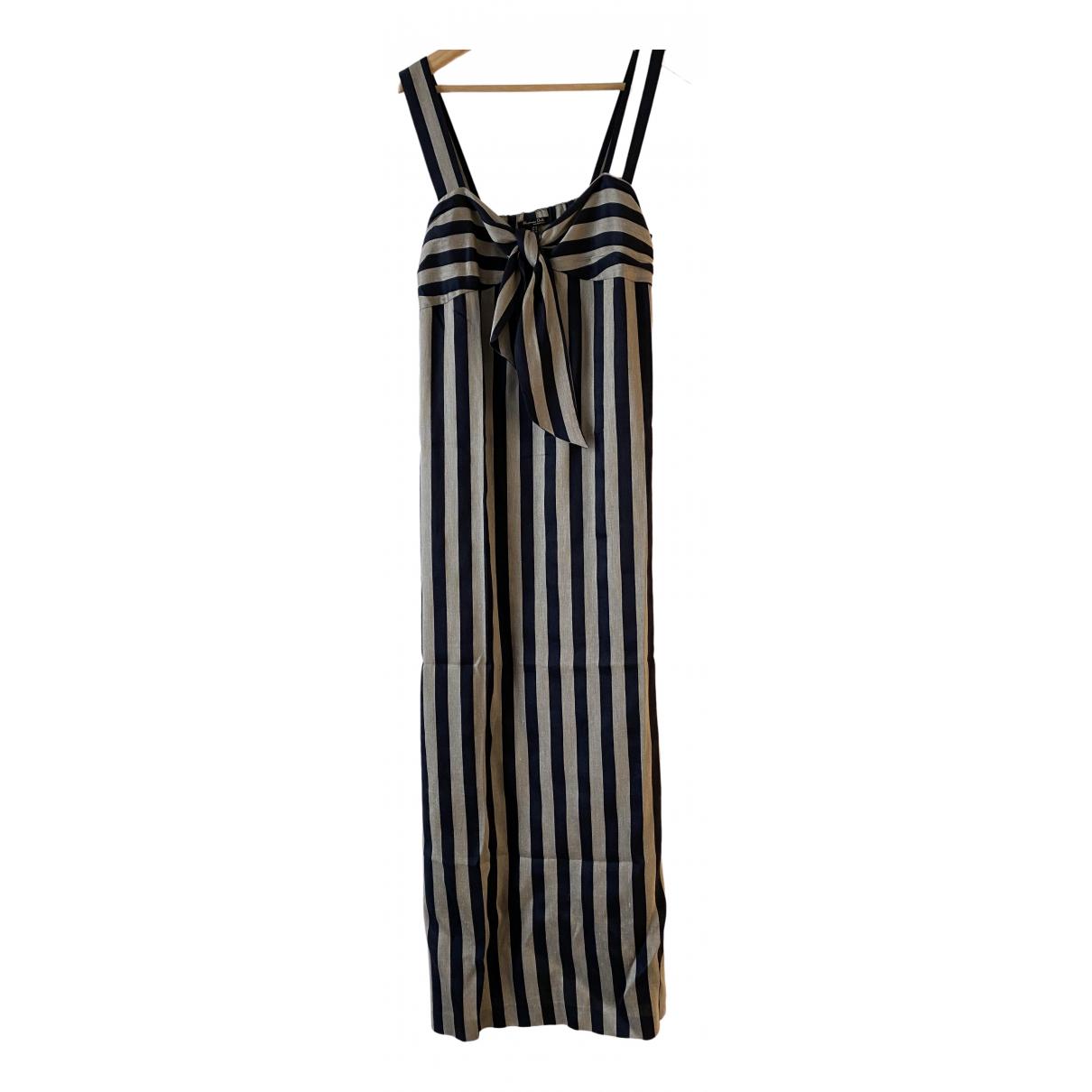 Massimo Dutti \N Kleid in Leinen