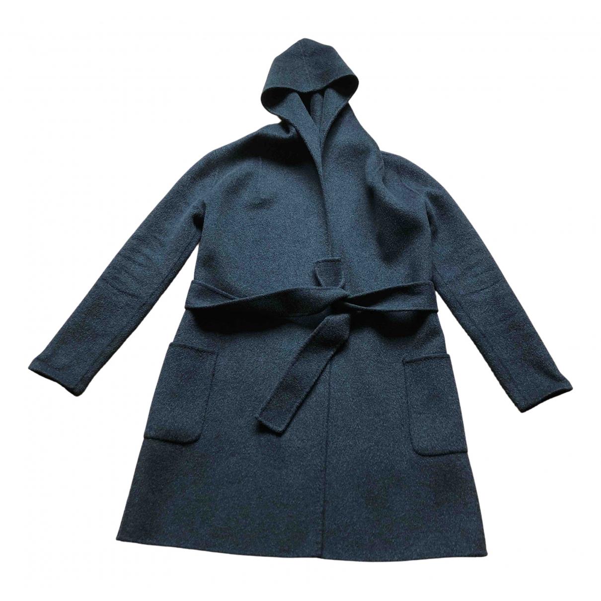Parosh - Manteau   pour femme en laine - anthracite