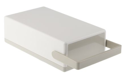 OKW Flat-Pack Case, Grey ABS Project Box, 189 x 110 x 60mm