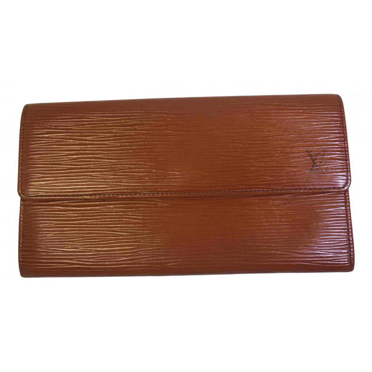 Louis Vuitton N Camel Leather wallet for Women N