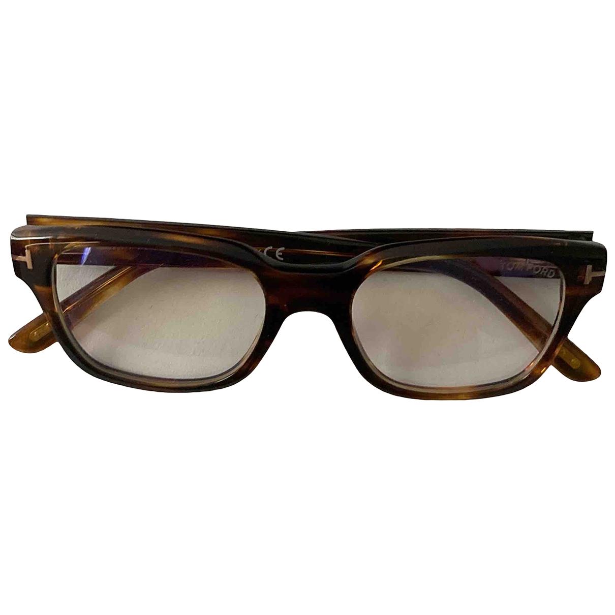 Tom Ford \N Sonnenbrillen in  Braun Polyester