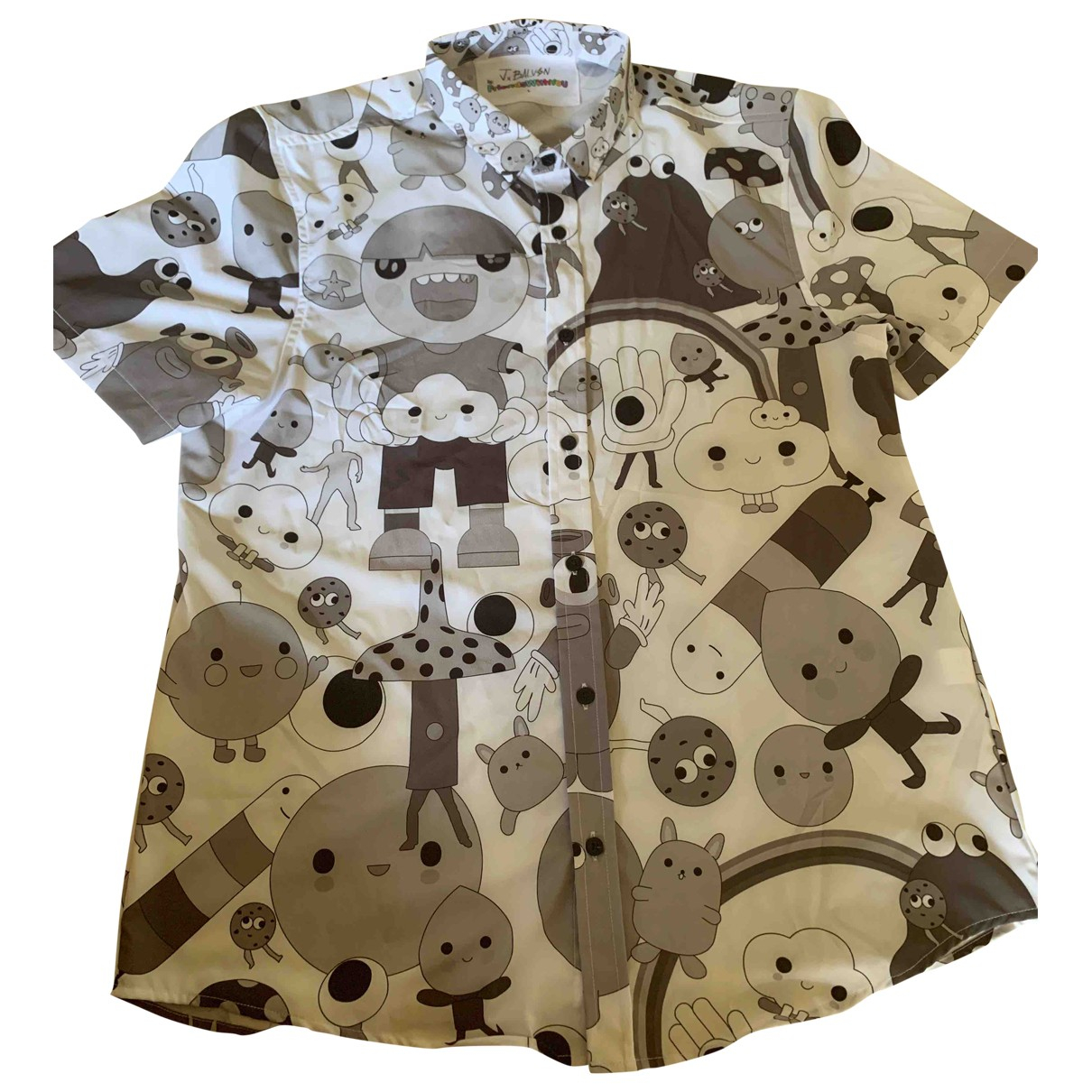 Non Signé / Unsigned \N Grey Shirts for Men L International