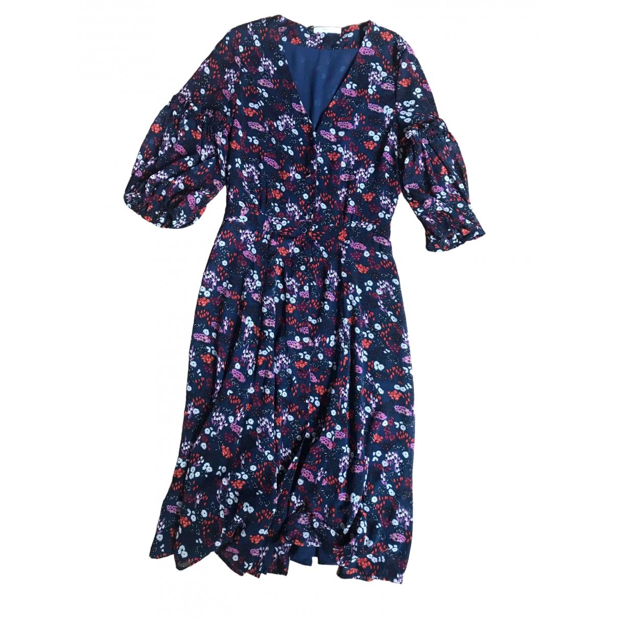Sessun \N Kleid in  Blau Synthetik