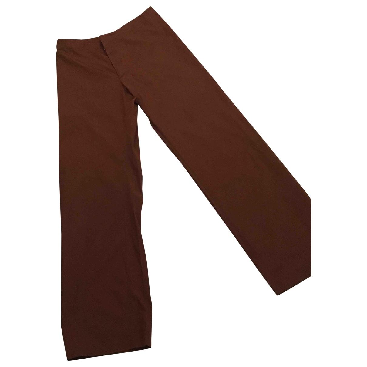 Jean Paul Gaultier \N Brown Trousers for Men 50 IT