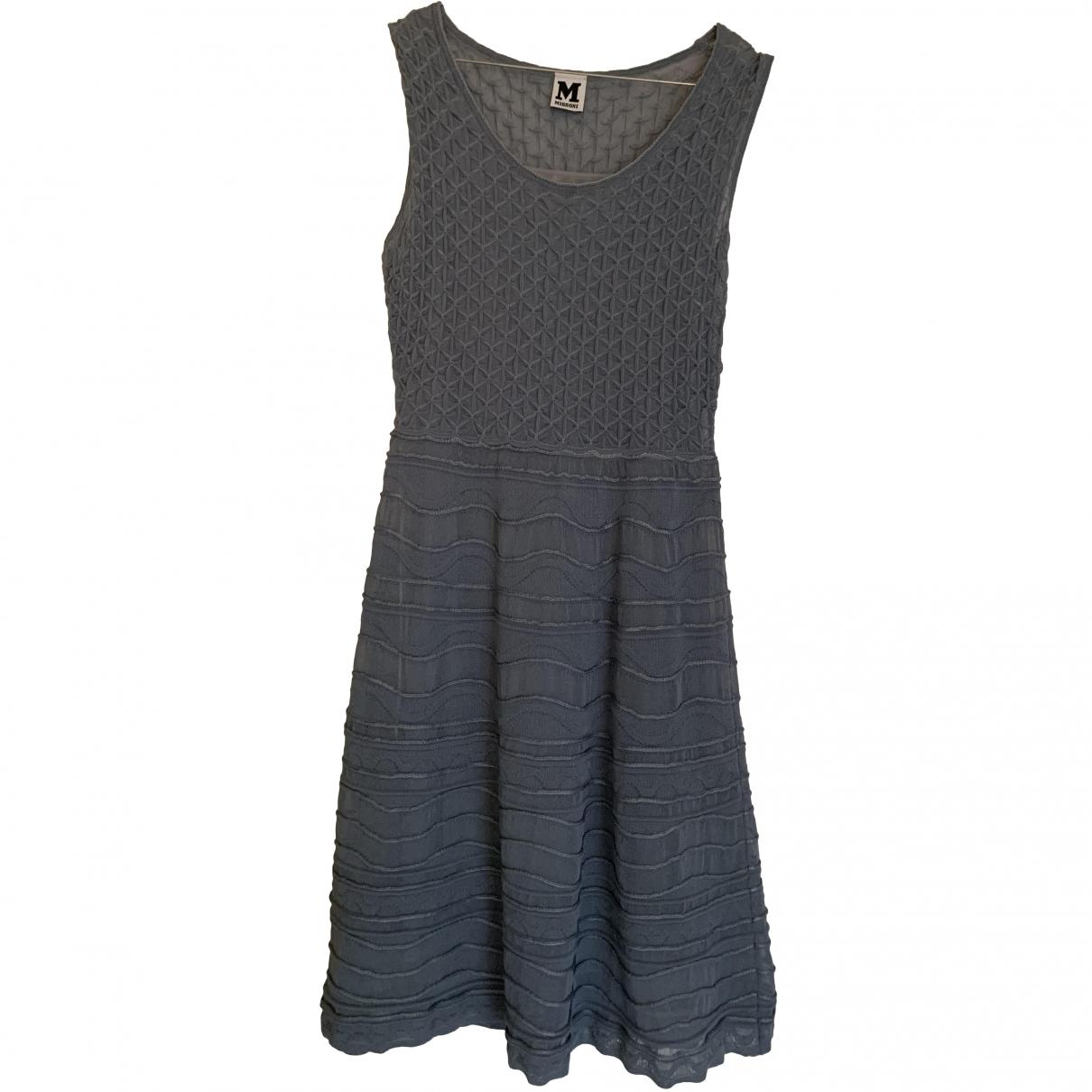 M Missoni \N Kleid in  Marine Polyester