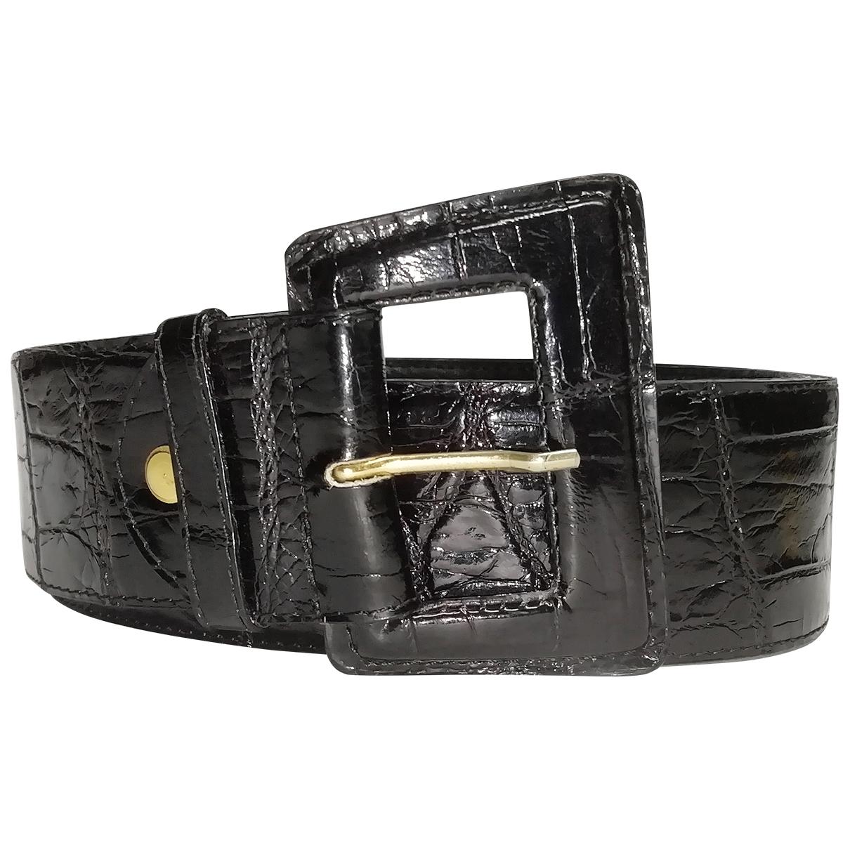 Cinturon de Aligator Non Signe / Unsigned