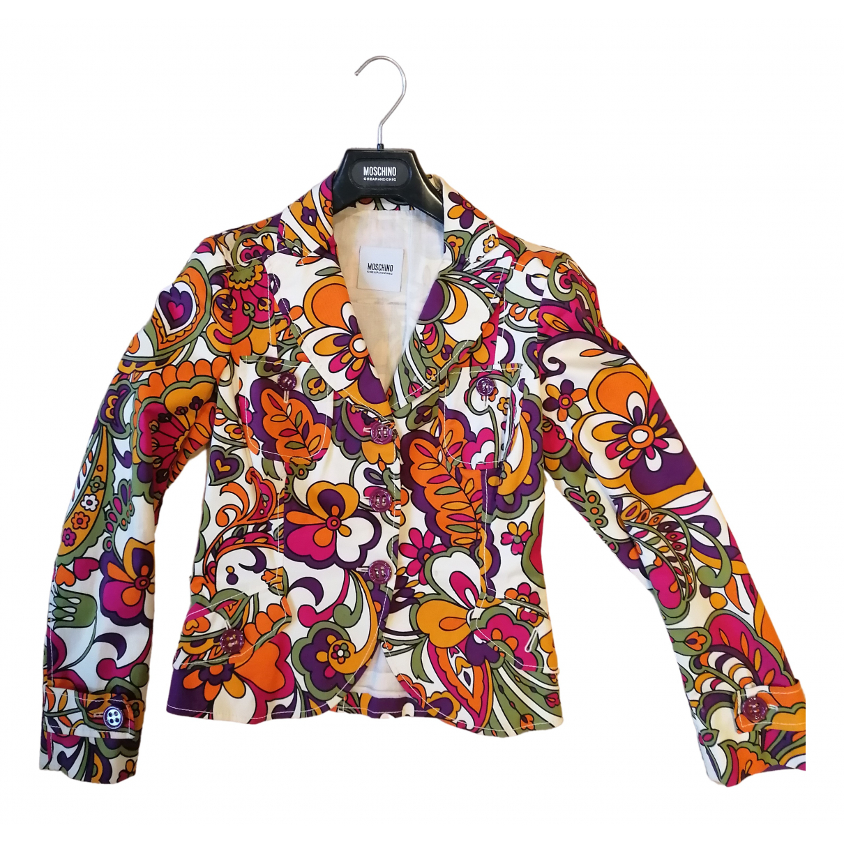 Moschino Cheap And Chic \N Jacke in  Bunt Baumwolle