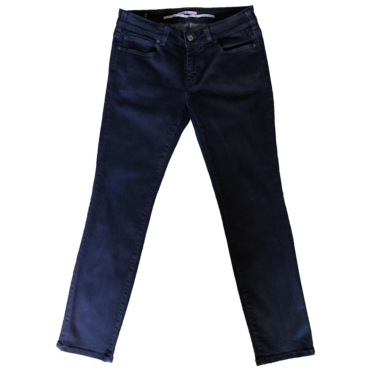Vanessa Bruno \N Blue Cotton - elasthane Jeans for Women 31 US