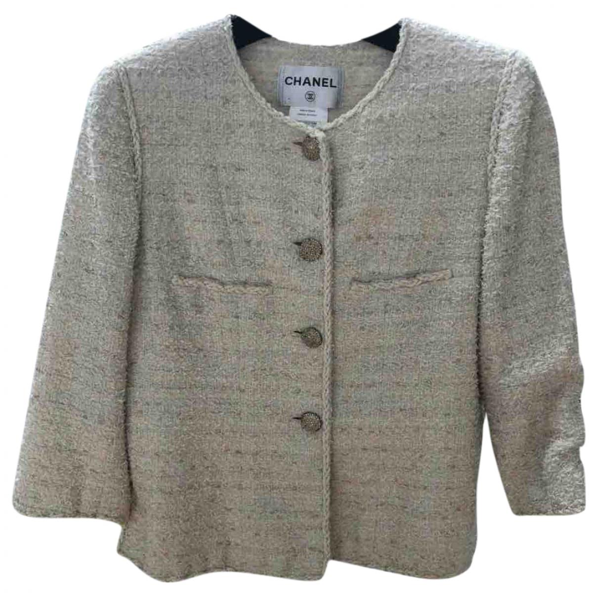 Chanel N Tweed jacket for Women 44 FR