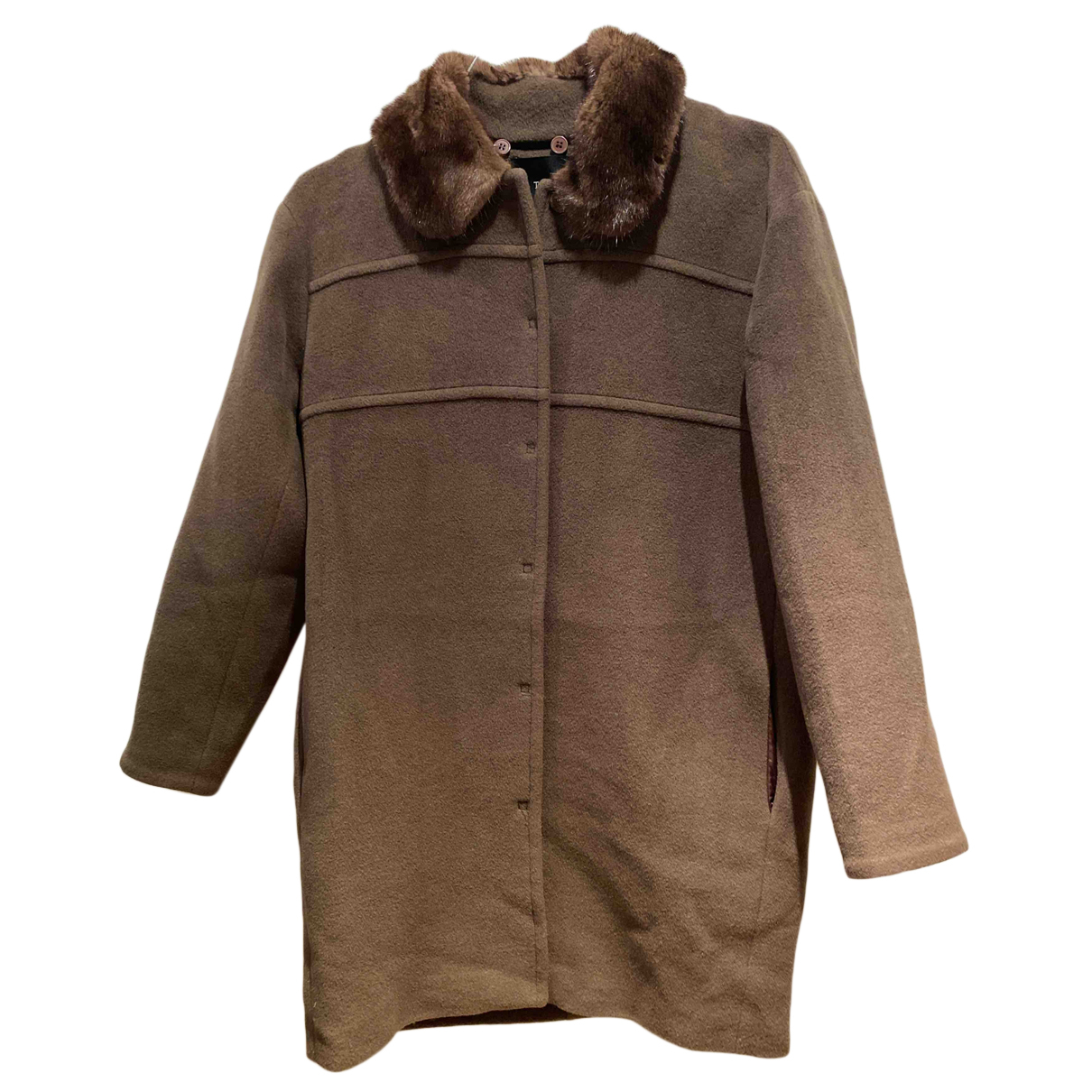 Tara Jarmon N Brown Wool coat for Women 38 FR