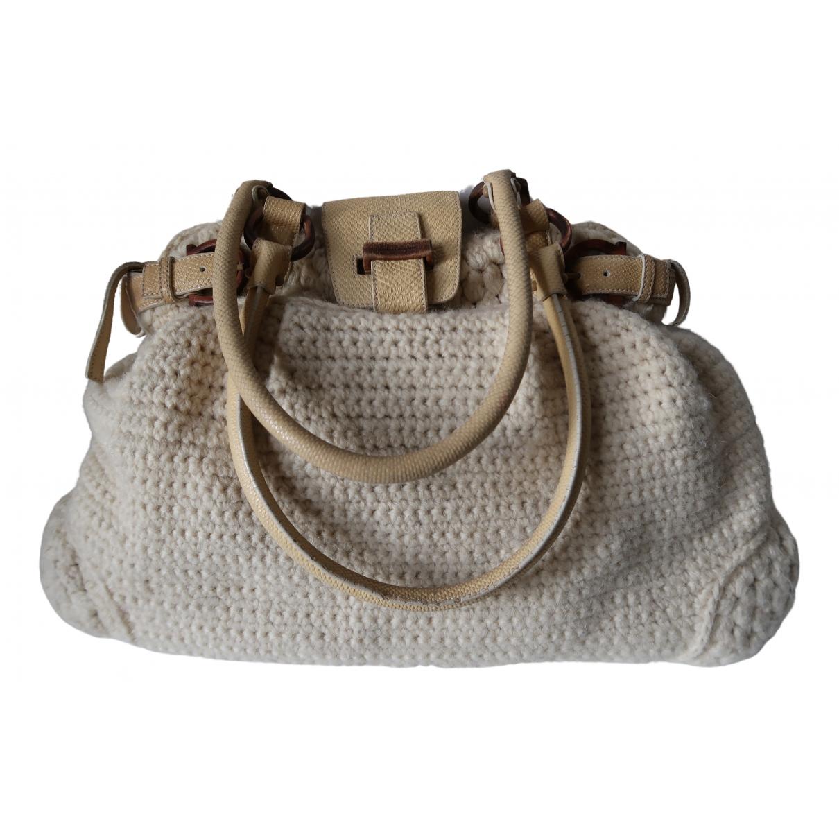 Salvatore Ferragamo \N Handtasche in Wolle