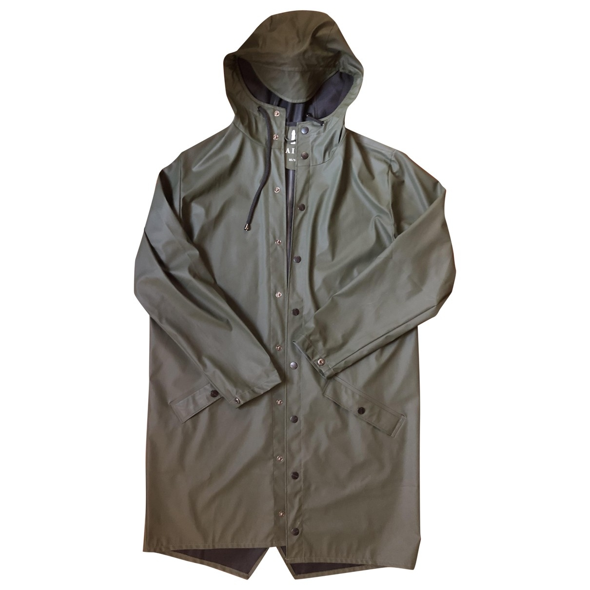 Rains \N Jacke in  Gruen Polyester
