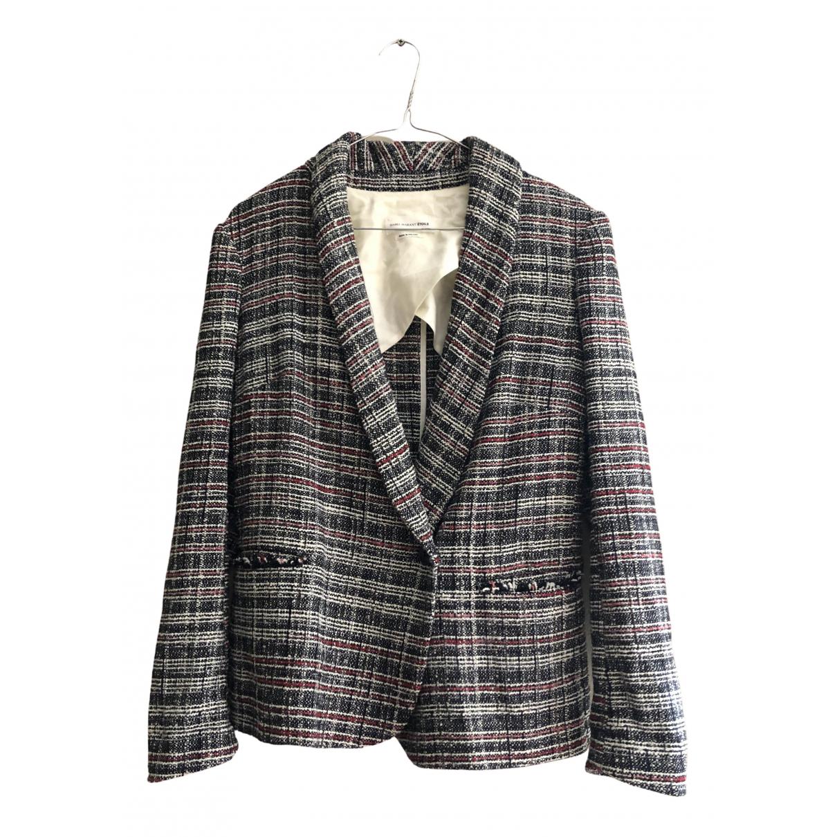 Isabel Marant Etoile \N Anthracite Tweed jacket for Women 38 FR