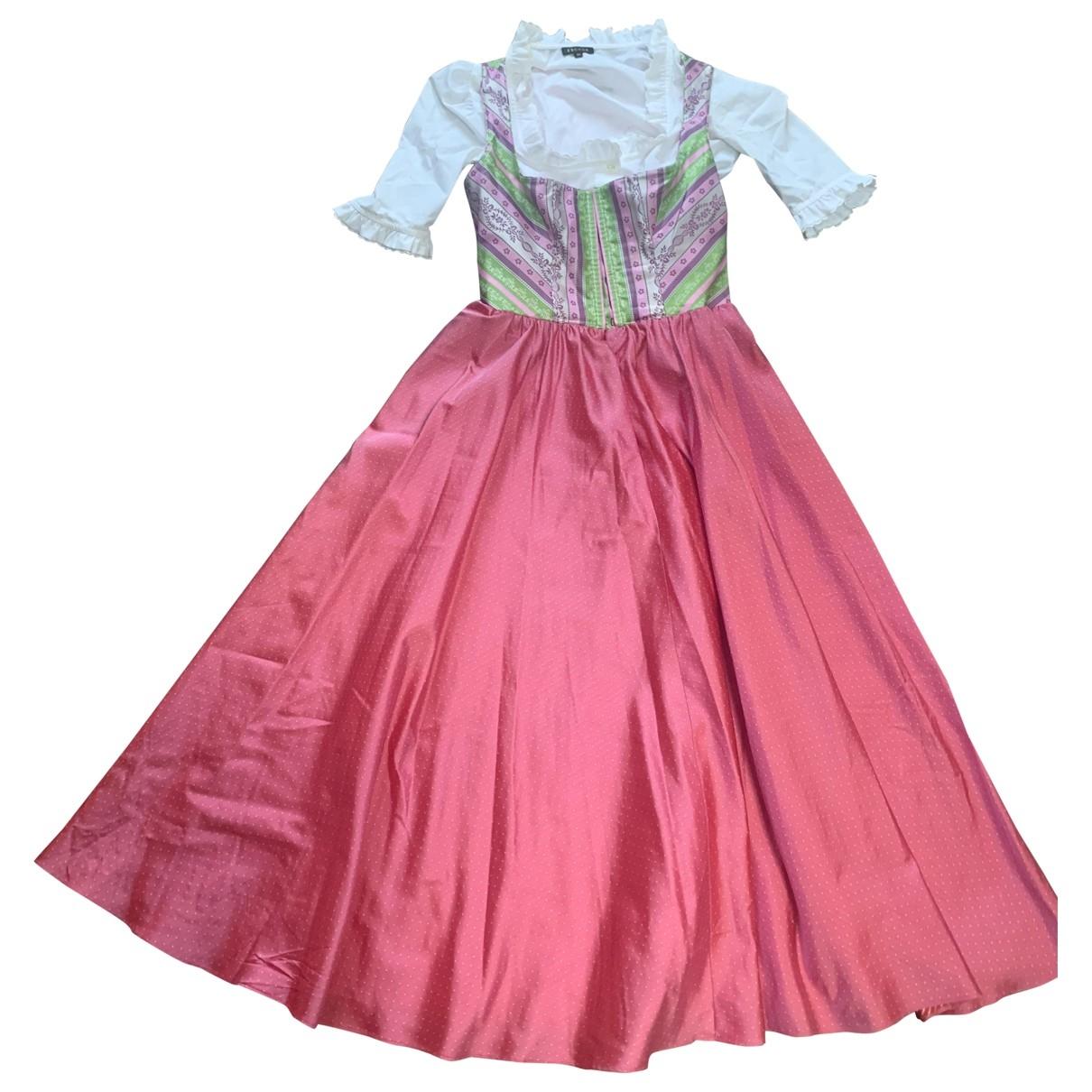 Escada \N Kleid in  Rosa Baumwolle