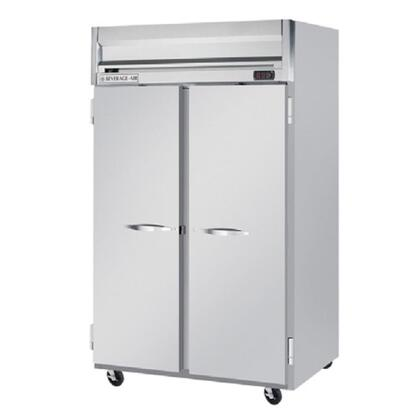 HFPS2-1S Horizon Series Two Section Solid Door Reach-In Freezer  49 cu.ft. Capacity  Stainless Steel Exterior and