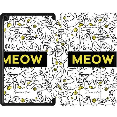 Amazon Fire 7 (2017) Tablet Smart Case - Meow von Simons Cat