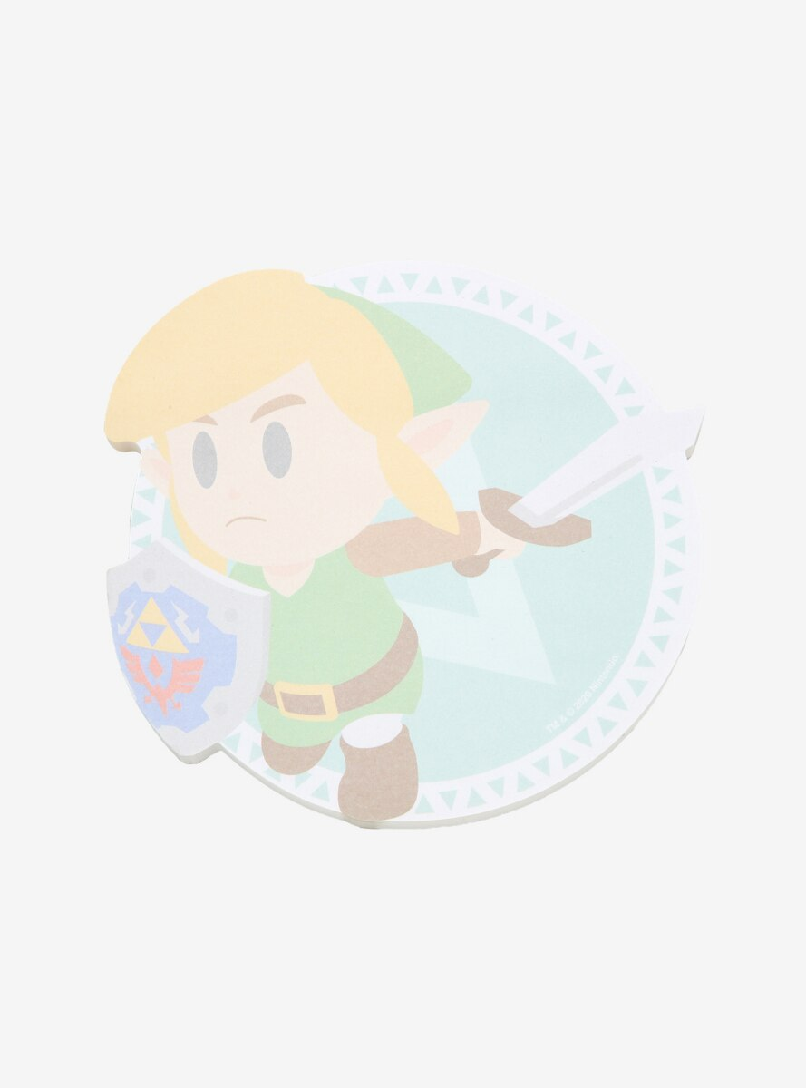 Nintendo The Legend of Zelda Link Die-Cut Sticky Notes - BoxLunch Exclusive