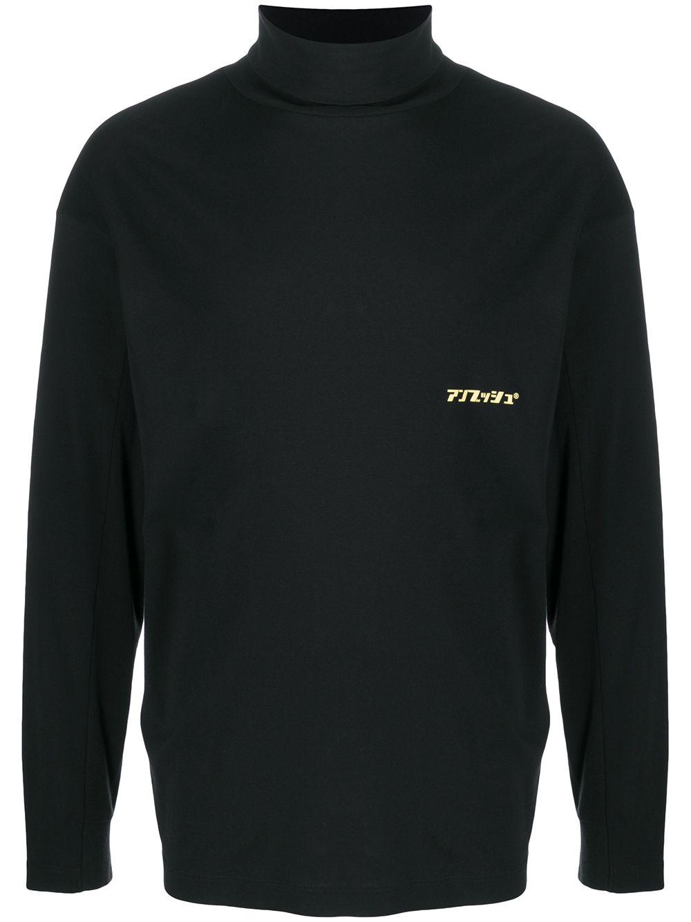 Cotton Turtle-neck Sweater