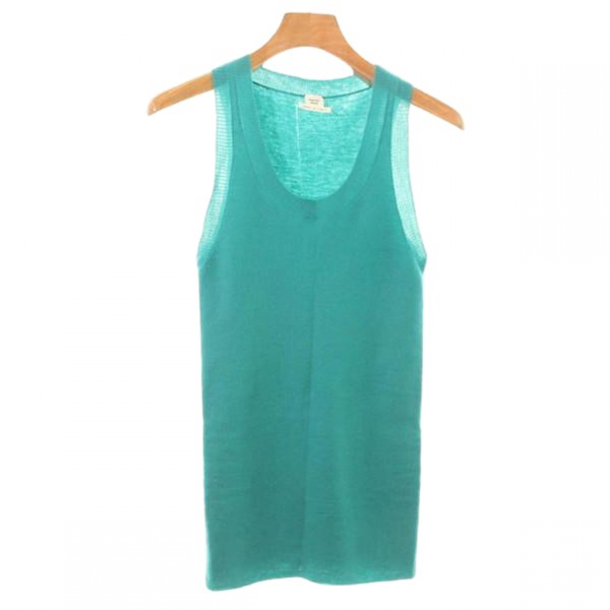 Hermès \N Turquoise Cashmere  top for Women 36 FR
