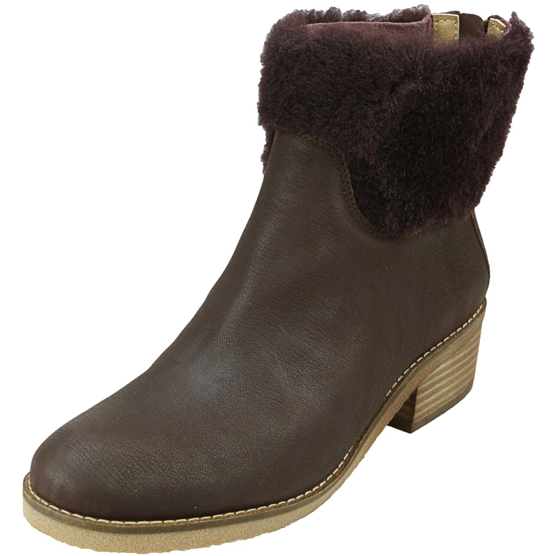 Lucky Brand Women's Tarina Raisin Mid-Top Leather Boot - 6.5M