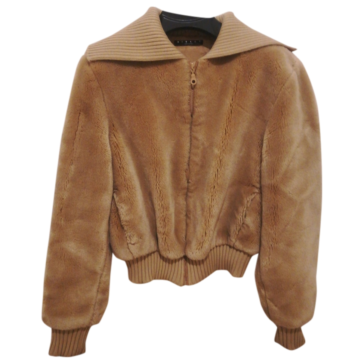 Non Signé / Unsigned \N Camel Faux fur jacket for Women M International