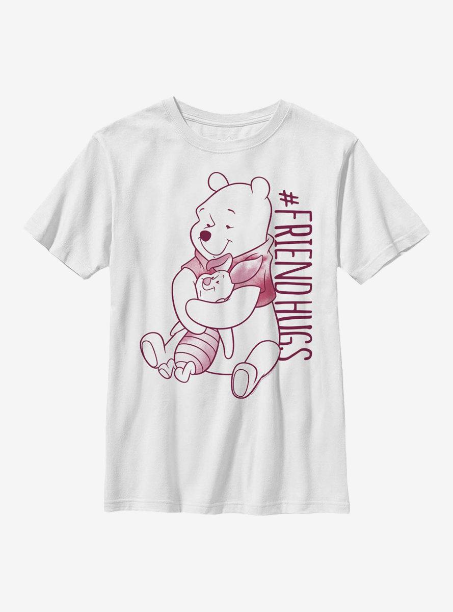Disney Winnie The Pooh Piglet Pooh Hugs Youth T-Shirt