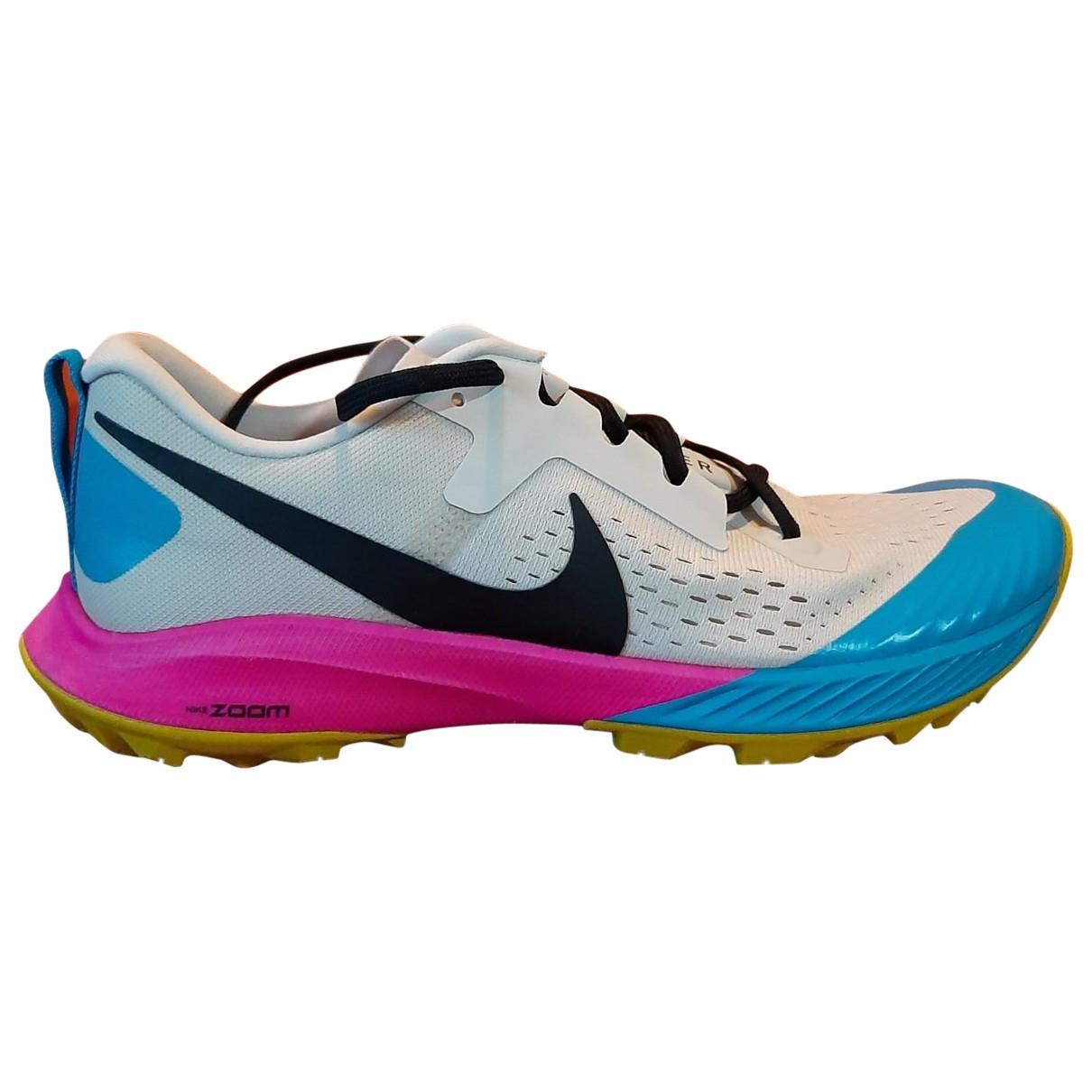 Nike - Baskets Zoom pour homme en toile - multicolore
