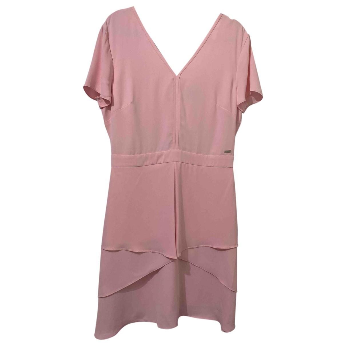 Emporio Armani \N Kleid in  Rosa Polyester