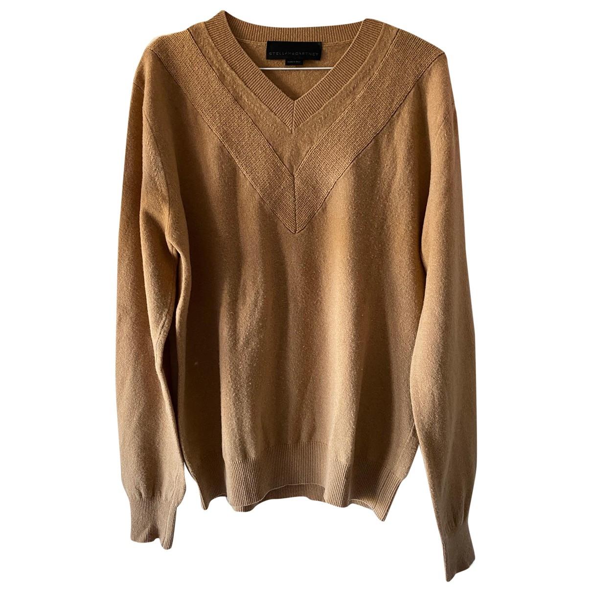 Stella Mccartney - Pulls.Gilets.Sweats   pour homme en laine - camel