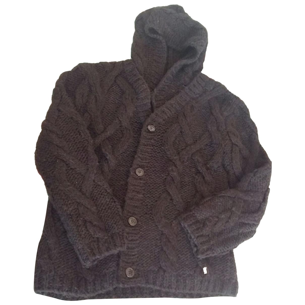 Galliano - Pulls.Gilets.Sweats   pour homme en laine - noir