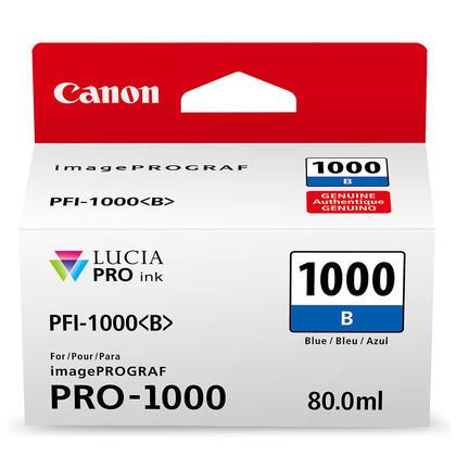 Canon PFI-1000B Original Blue Ink Cartridge (0555C002)