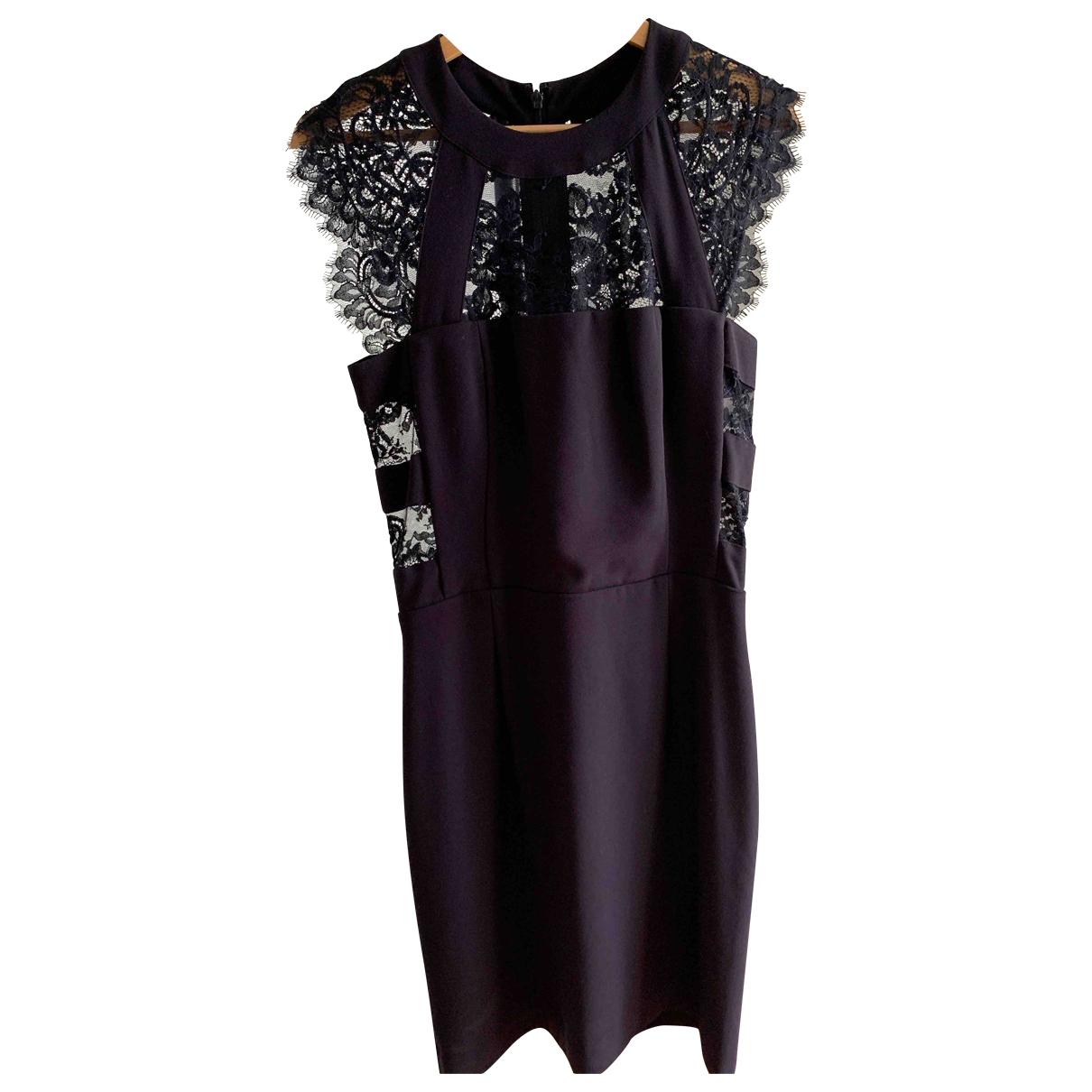 The Kooples \N Purple Cotton - elasthane dress for Women S International
