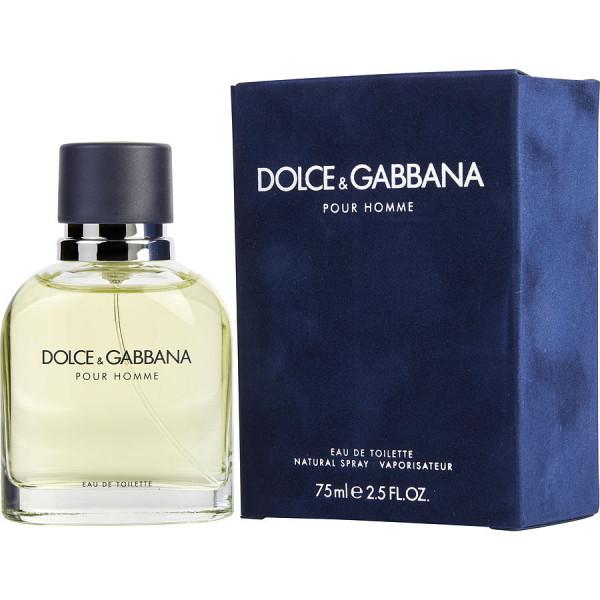 Dolce & Gabbana Pour Homme - Dolce & Gabbana Eau de toilette en espray 75 ML