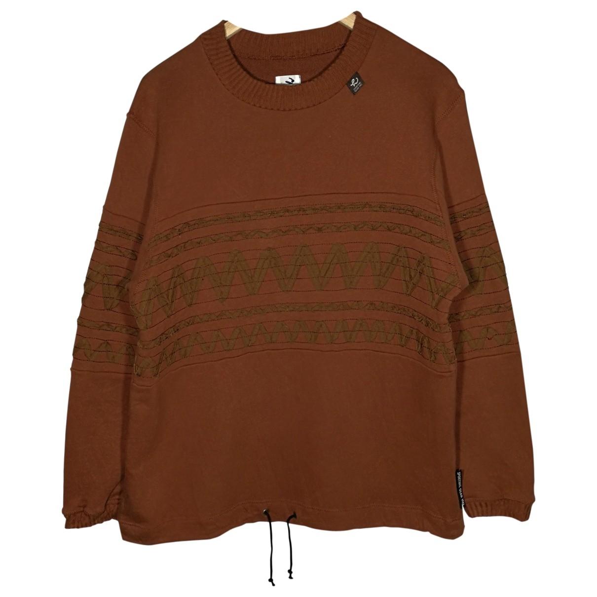 Issey Miyake \N Brown Cotton Knitwear & Sweatshirts for Men M International