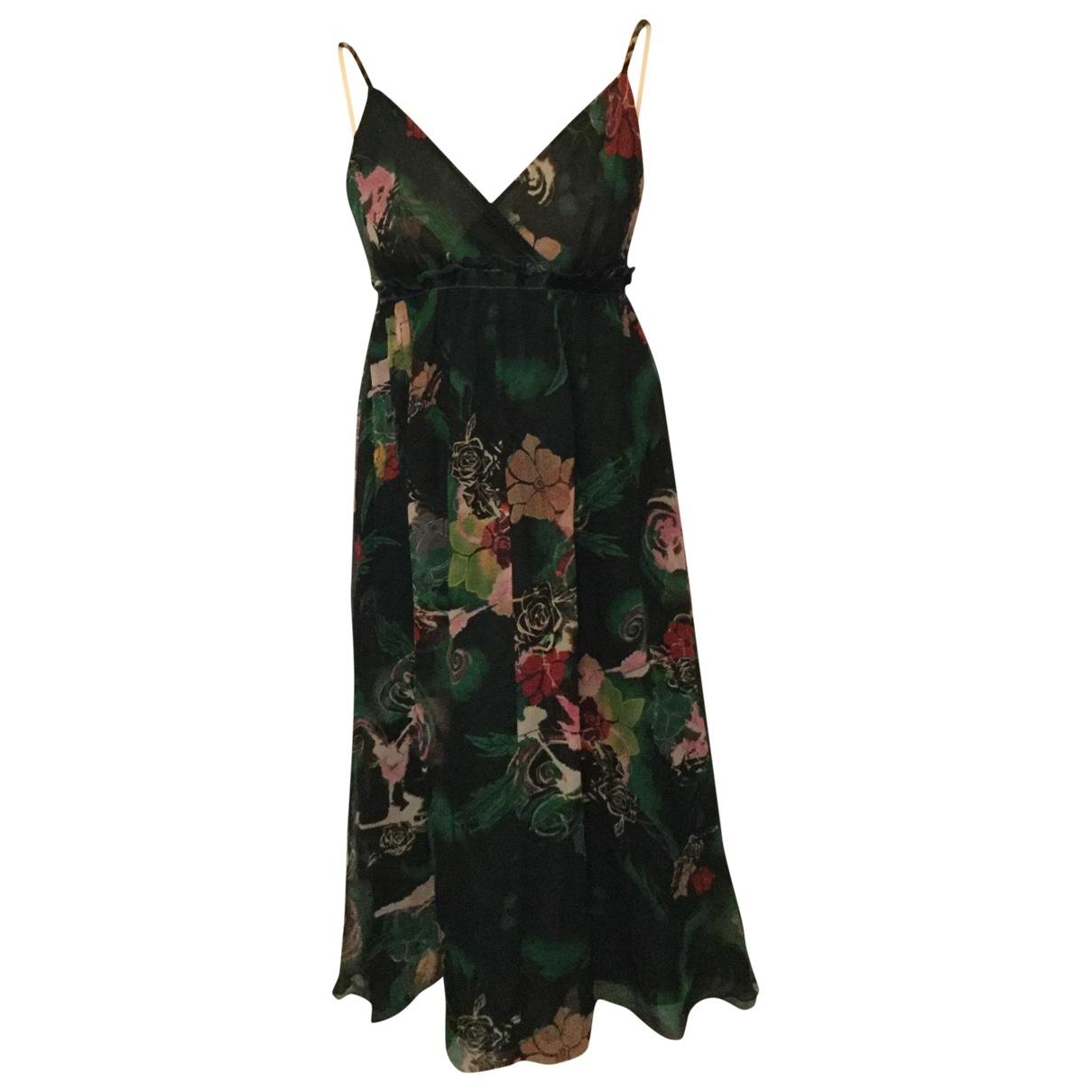 Les Petites \N Green Silk dress for Women 1 0-5