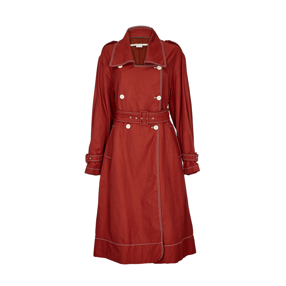 Stella Mccartney - Manteau   pour femme - rouge