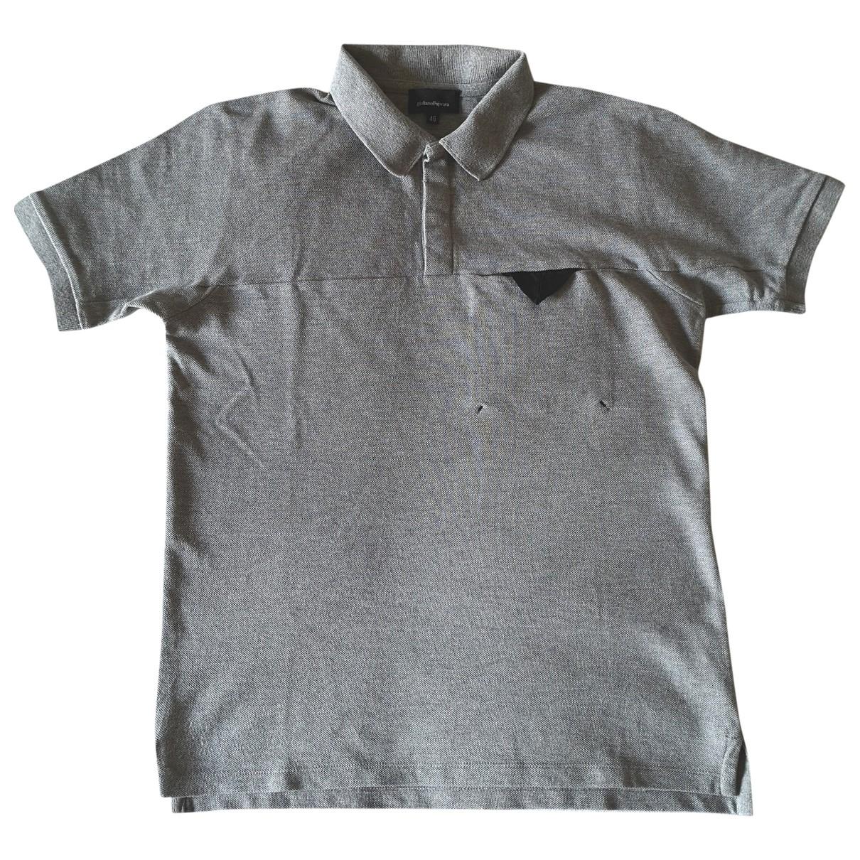 Giuliano Fujiwara - Polos   pour homme en coton - gris
