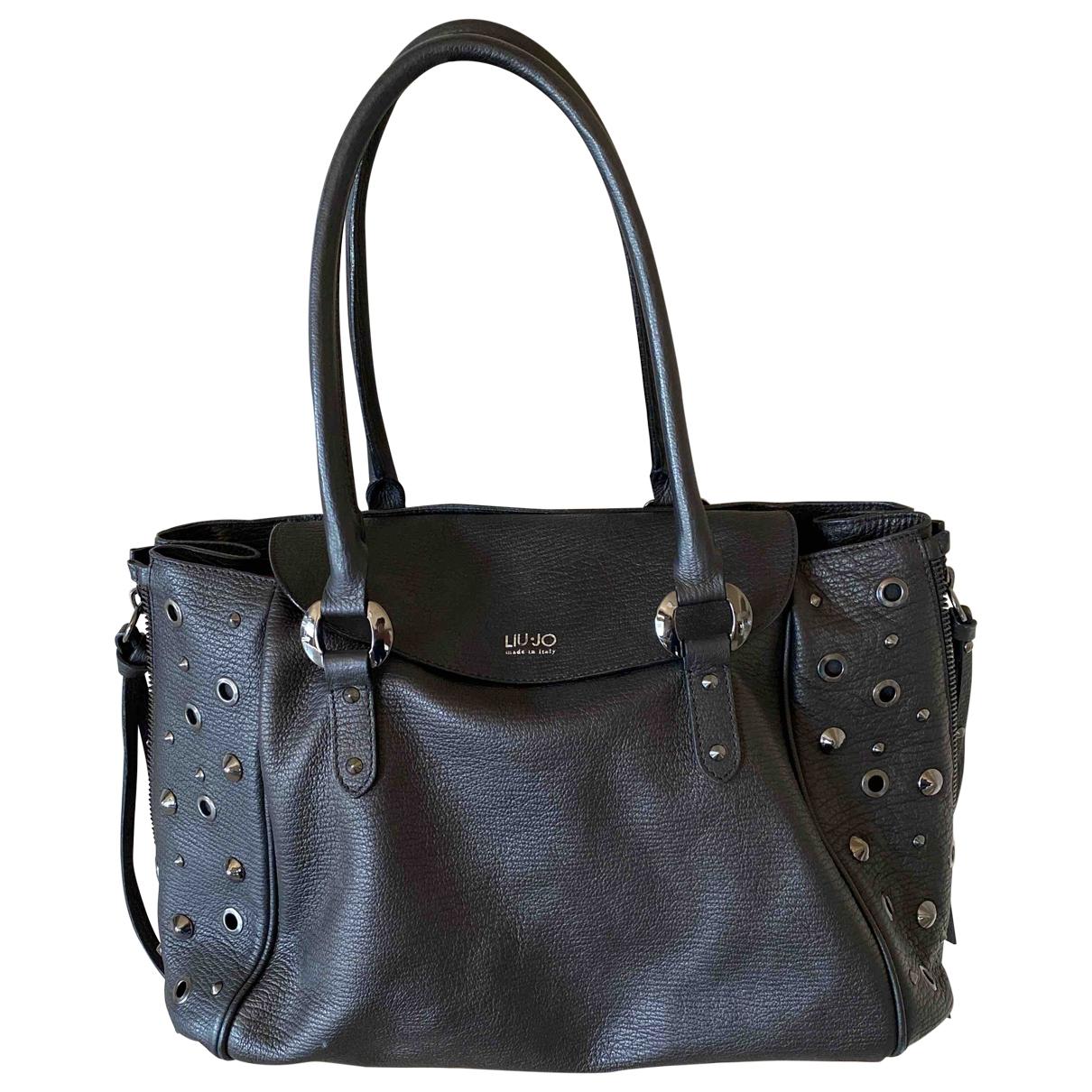 Liu.jo \N Handtasche in  Schwarz Leder