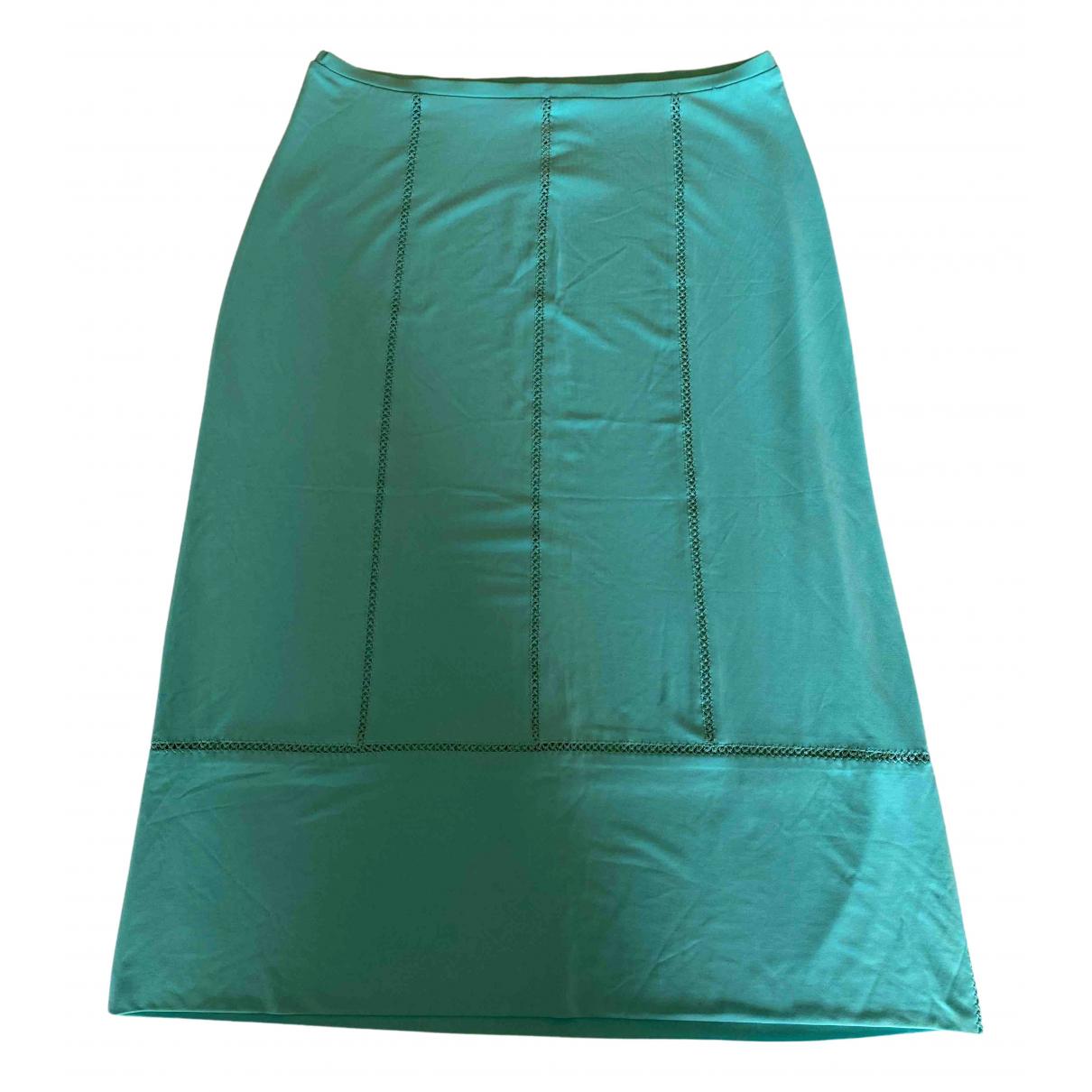 Plein Sud N Turquoise skirt for Women 38 FR