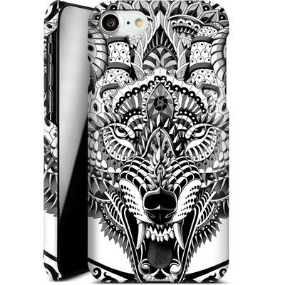 Apple iPhone 8 Smartphone Huelle - Wolf Head von BIOWORKZ